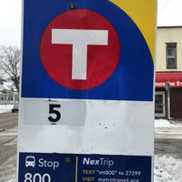Photo taken at Metro Transit Route 5 by Goran G. on 1/25/2018