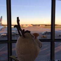Photo taken at Gate D2 by Marriann D. on 9/29/2015