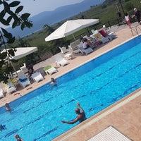 Photo taken at Villa Marine Apart Hotel by Güven A. on 7/31/2018