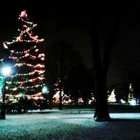 Photo taken at Victoria Park by Jonny 9. on 12/25/2012