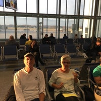 Photo taken at Gate A9 by David R. on 1/24/2016