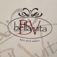Photo taken at Bella Vita Spa & Salon by Jeanean W. on 10/19/2012