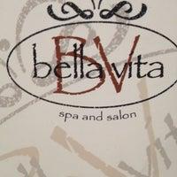 Photo taken at Bella Vita Spa & Salon by Jeanean W. on 10/18/2012