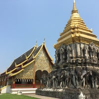 Photo taken at Wat Chiang Man by heeroo on 5/6/2017