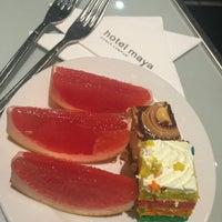 Photo taken at Hotel Maya Sky Lounge by Zulika Z. on 8/7/2016