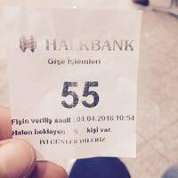 Photo prise au Halkbank par ☪️ Mertcan . le4/4/2016