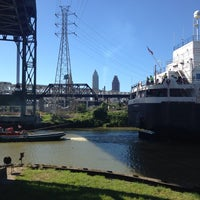 Photo taken at Cuyahoga River by Craig S. on 6/15/2014
