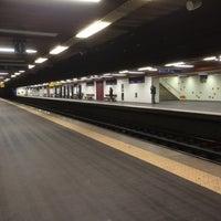 Photo taken at Metro Laranjeiras [AZ] by J. I. on 3/17/2016