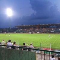 Photo taken at Rohonci úti stadion by Makk T. on 7/26/2014