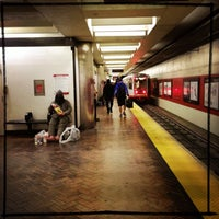 Photo taken at Powell MUNI Metro Station by Rosemarie M. on 7/16/2013