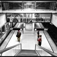 Photo taken at Van Ness MUNI Metro Station by Rosemarie M. on 1/3/2013