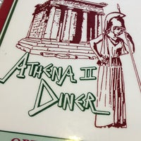 Photo taken at Athena Diner II by Ally W. on 4/25/2013