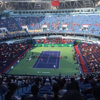 Photo taken at Shanghai Rolex Masters - Stadium Court by Christina L. on 10/16/2016