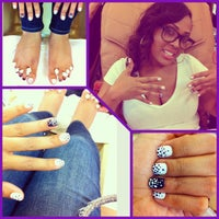Photo taken at First Class Nails & Spa by Elan N. on 1/19/2013