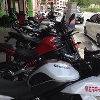 Photo taken at Cycle Point Motosport Sdn Bhd Nilai by farhan m. on 8/30/2014