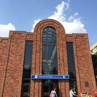 Photo taken at University LRT Station by 2pr on 7/21/2014
