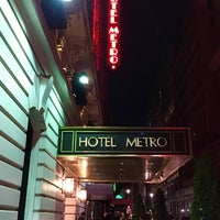 Photo taken at Hotel Metro by Paul G. on 4/14/2017