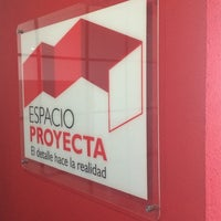 Photo taken at ESPACIO PROYECTA by Roberto G. on 4/8/2014