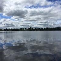 Photo taken at Pigeon Lake by Athena S. on 7/16/2016