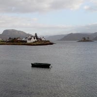 Photo taken at Plockton Harbor by Sophie O. on 11/11/2013