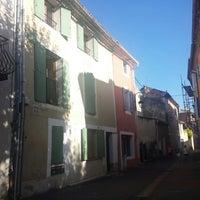 Photo taken at Caderousse by Iris B. on 8/7/2014