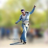 Photo taken at Central Park Dance Skaters Association (CPDSA) — Free Roller Skating Rink by Central Park Dance Skaters Association (CPDSA) — Free Roller Skating Rink on 4/7/2014