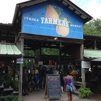 Photo taken at Ithaca Farmers Market by Matt J. on 6/30/2013