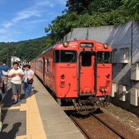 Photo taken at Amarube Station by tayuru on 8/14/2018