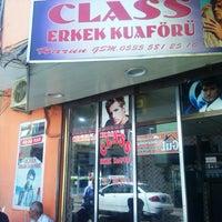 Photo taken at Class Erkek Kuaförü by TC B. on 6/12/2014