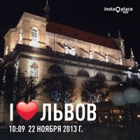 Photo taken at Готель Вiдень / Hotel Wien by Vlad C. on 11/22/2013
