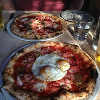 Photo taken at DOUGH Pizzeria Napoletana by Sean P. on 9/1/2013