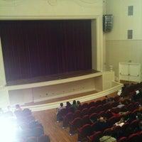 Photo taken at Teatro Municipal José Bohr by Carolina G. on 12/16/2012