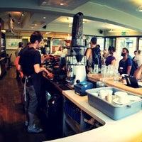 Photo taken at Allpress Espresso Bar by Nikita K. on 7/13/2013
