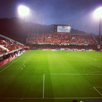 Photo taken at IAI Stadium Nihondaira by fumisquare on 11/17/2012