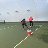 Photo taken at Performans Tenis Akademisi Cemile Sultan Korusu by Ayfer K. on 12/20/2015