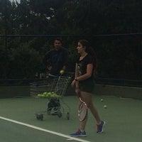 Photo taken at Performans Tenis Akademisi Cemile Sultan Korusu by Ayfer K. on 5/22/2016