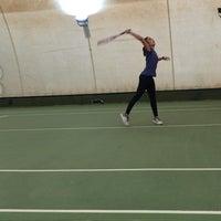 Photo taken at Performans Tenis Akademisi Cemile Sultan Korusu by Ayfer K. on 10/28/2017