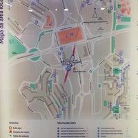 Photo taken at Metro Bela Vista [VM] by Rui S. on 4/23/2014