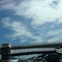 Photo taken at Mineyama-guchi Intersection by elly🐝 on 7/7/2013