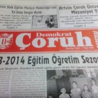 Photo taken at Demokrat Çoruh Gazetesi by Resul G. on 6/14/2014