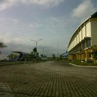 Photo taken at Stadion Kaharudin Nasution by dwi m. on 2/7/2013