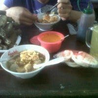 "Photo taken at ""Bakso Herry"" by dwi m. on 10/24/2012"