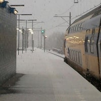Photo taken at Station Almere Centrum by Patrick t. on 2/9/2013