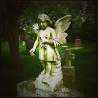 Photo taken at St. Mary's Cemetery by Chris M. on 7/3/2013