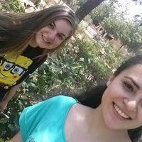 Photo taken at Parque De La Memoria by Alejandra O. on 10/4/2014