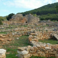 Photo taken at Nuraghe Palmavera by Zuzana B. on 11/1/2015