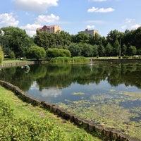 Photo taken at Парк «Дубки» by Alexey Z. on 7/13/2013