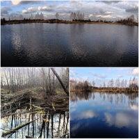 Photo taken at Никитинский Пруд by Alexey Z. on 11/4/2013