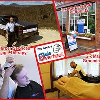 Photo taken at MaleOverhaul - Mobile Barber and Massage Therapist by MaleOverhaul - Mobile Barber and Massage Therapist on 4/8/2014