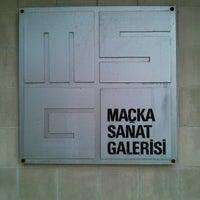 Photo taken at Maçka Sanat Galerisi by Mykola K. on 1/3/2014